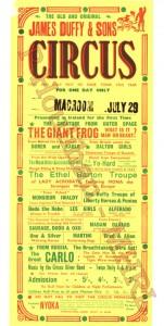 Circus Poster 25