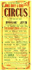 Circus Poster 33